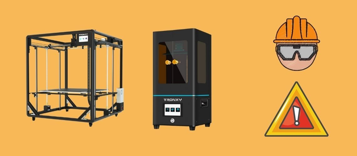 How to avoid the safety hazards caused by 3d printers?